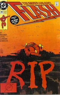 Cover Thumbnail for Flash (DC, 1987 series) #49 [Direct]