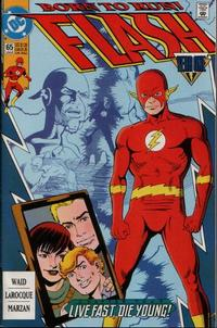Cover Thumbnail for Flash (DC, 1987 series) #65 [Direct]