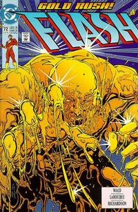 Cover Thumbnail for Flash (DC, 1987 series) #72 [Direct]