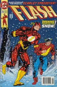 Cover Thumbnail for Flash (DC, 1987 series) #73 [Newsstand]