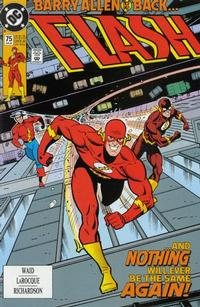 Cover Thumbnail for Flash (DC, 1987 series) #75 [Direct]