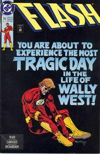 Cover Thumbnail for Flash (DC, 1987 series) #76 [Direct]