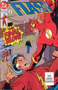 Cover Thumbnail for Flash (DC, 1987 series) #77 [Direct]