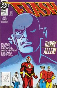 Cover Thumbnail for Flash (DC, 1987 series) #78 [Direct]