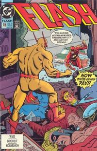 Cover Thumbnail for Flash (DC, 1987 series) #79 [Direct]