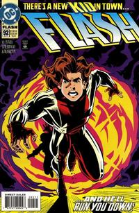 Cover Thumbnail for Flash (DC, 1987 series) #92 [Direct Sales]
