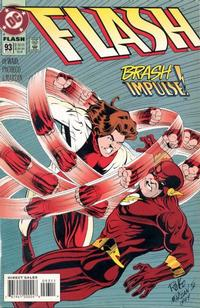 Cover Thumbnail for Flash (DC, 1987 series) #93 [Direct Sales]