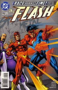 Cover Thumbnail for Flash (DC, 1987 series) #115