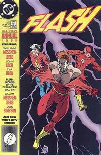 Cover Thumbnail for Flash Annual (DC, 1987 series) #3 [Direct]