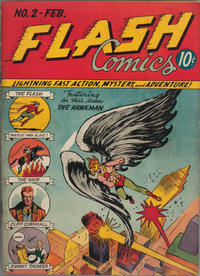 Cover Thumbnail for Flash Comics (DC, 1940 series) #2