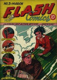 Cover Thumbnail for Flash Comics (DC, 1940 series) #3