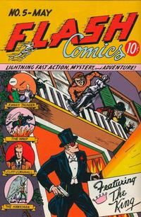 Cover Thumbnail for Flash Comics (DC, 1940 series) #5