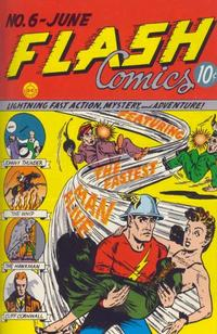 Cover Thumbnail for Flash Comics (DC, 1940 series) #6