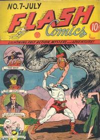 Cover Thumbnail for Flash Comics (DC, 1940 series) #7