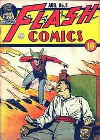 Cover Thumbnail for Flash Comics (DC, 1940 series) #8