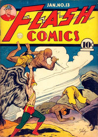 Cover Thumbnail for Flash Comics (DC, 1940 series) #13 [American Price Only]