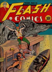 Cover Thumbnail for Flash Comics (DC, 1940 series) #15