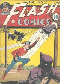 Cover Thumbnail for Flash Comics (DC, 1940 series) #20