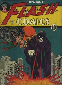 Cover Thumbnail for Flash Comics (DC, 1940 series) #21