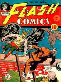 Cover Thumbnail for Flash Comics (DC, 1940 series) #23