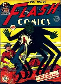 Cover Thumbnail for Flash Comics (DC, 1940 series) #24