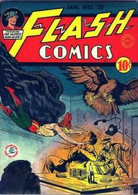 Cover Thumbnail for Flash Comics (DC, 1940 series) #25
