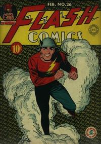 Cover Thumbnail for Flash Comics (DC, 1940 series) #26