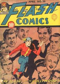 Cover Thumbnail for Flash Comics (DC, 1940 series) #28