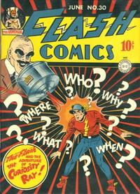 Cover Thumbnail for Flash Comics (DC, 1940 series) #30