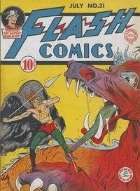 Cover Thumbnail for Flash Comics (DC, 1940 series) #31