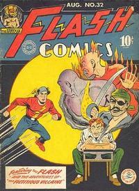 Cover Thumbnail for Flash Comics (DC, 1940 series) #32