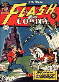 Cover Thumbnail for Flash Comics (DC, 1940 series) #34