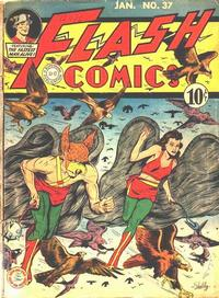 Cover Thumbnail for Flash Comics (DC, 1940 series) #37