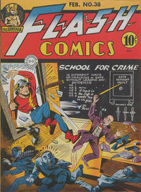 Cover Thumbnail for Flash Comics (DC, 1940 series) #38