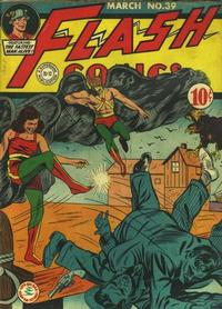 Cover Thumbnail for Flash Comics (DC, 1940 series) #39