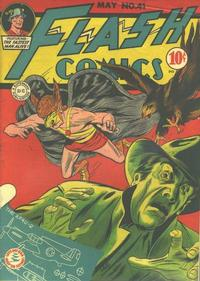 Cover Thumbnail for Flash Comics (DC, 1940 series) #41