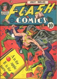 Cover Thumbnail for Flash Comics (DC, 1940 series) #43