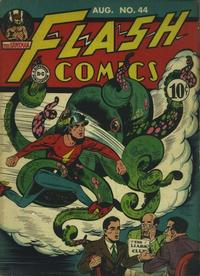 Cover Thumbnail for Flash Comics (DC, 1940 series) #44