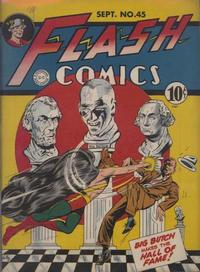 Cover Thumbnail for Flash Comics (DC, 1940 series) #45