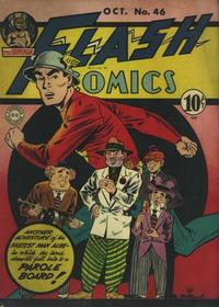 Cover Thumbnail for Flash Comics (DC, 1940 series) #46