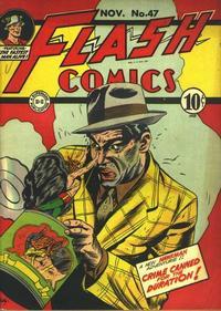 Cover Thumbnail for Flash Comics (DC, 1940 series) #47
