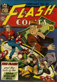 Cover Thumbnail for Flash Comics (DC, 1940 series) #50