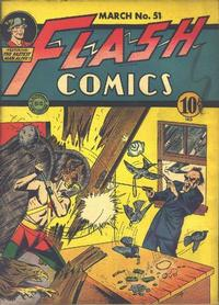 Cover Thumbnail for Flash Comics (DC, 1940 series) #51