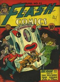Cover Thumbnail for Flash Comics (DC, 1940 series) #52