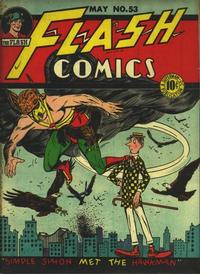 Cover Thumbnail for Flash Comics (DC, 1940 series) #53