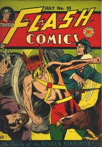 Cover Thumbnail for Flash Comics (DC, 1940 series) #55