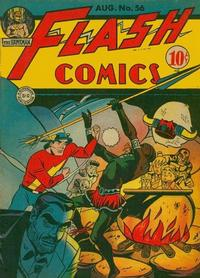 Cover Thumbnail for Flash Comics (DC, 1940 series) #56