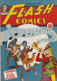 Cover Thumbnail for Flash Comics (DC, 1940 series) #59