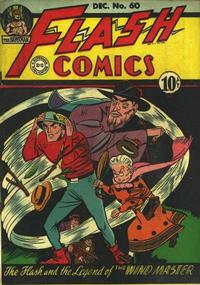 Cover Thumbnail for Flash Comics (DC, 1940 series) #60