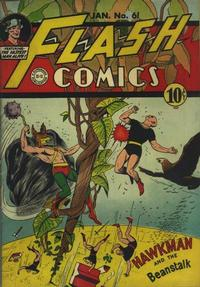 Cover Thumbnail for Flash Comics (DC, 1940 series) #61